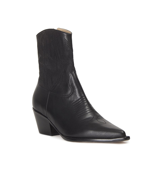 Kaia Ankle Western Boot