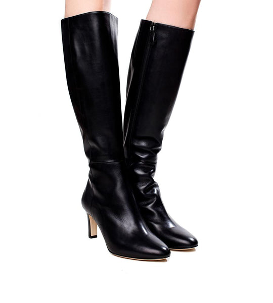 L.K. Bennett Eloria Knee High Leather Boot - TheSeptember.com