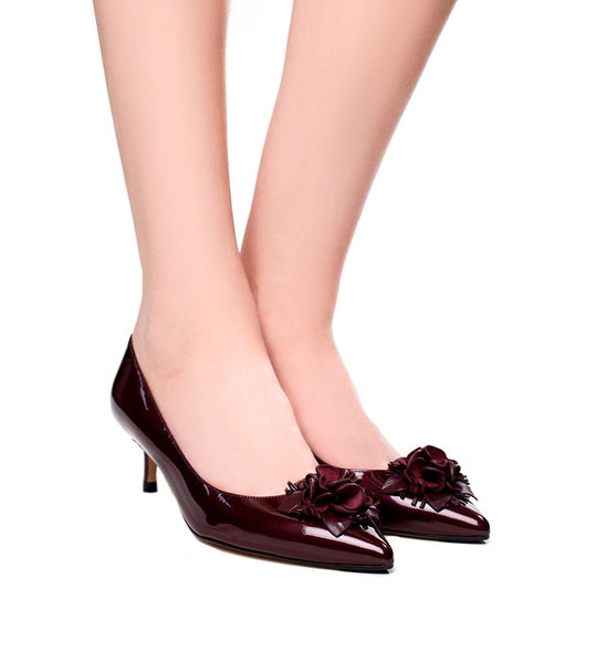 Portia Leather Pump