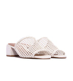L'intervalle Dia Crochet Sandals White - TheSeptember.com
