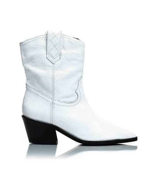 Texas Boot White