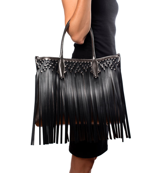 Medium Shopper Bag Fringe