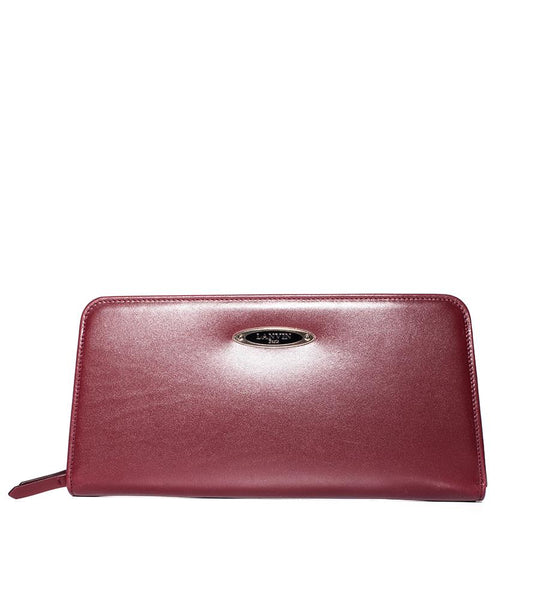 Burgundy Long Clutch