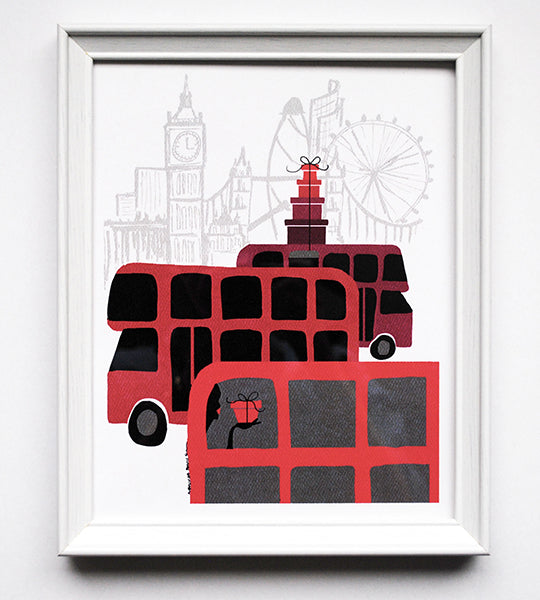 London Delivery Print