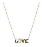 Love Letter LOVE Necklace