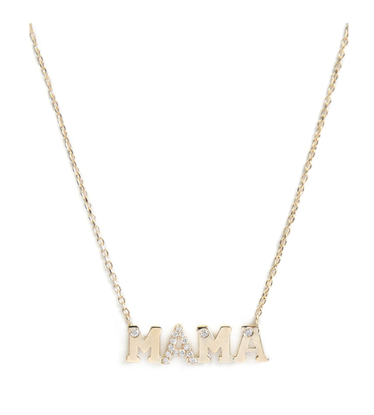 Customizable Love Letter MAMA Necklace