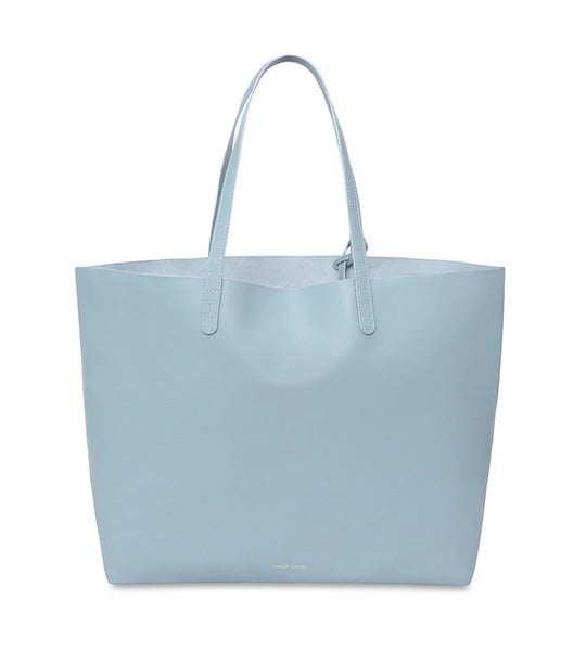 PRE-ORDER Oversized Tote Grey Blue