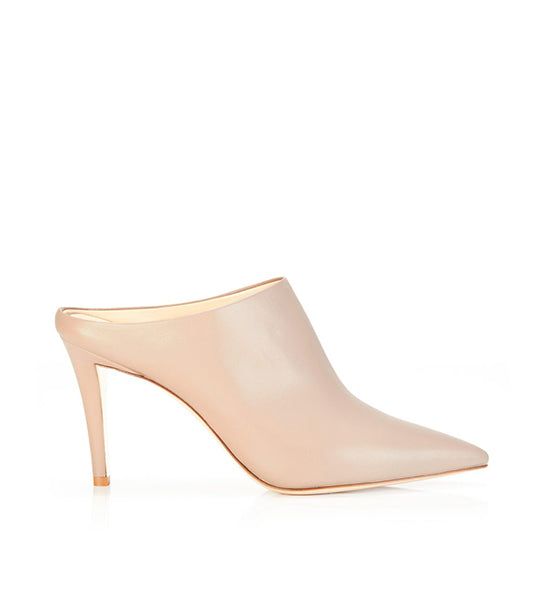 Mona | Leather Pointy Toe Mule
