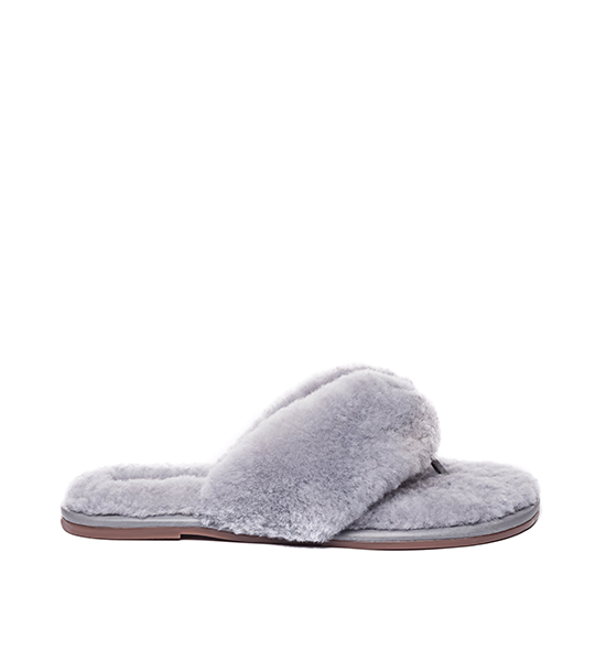 Miami Shearling - Grey