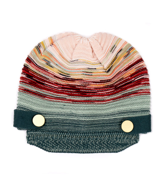 Knit Hat with Brim
