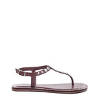 Mojo Brown Studded Sandal