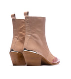 Morgan Pink Leather Boot