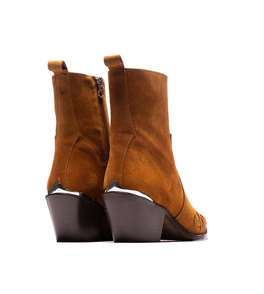Morgan Tan Suede Boot