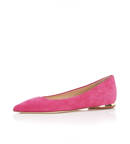 Must Have Flat Suede Classic Pointy Toe Flat