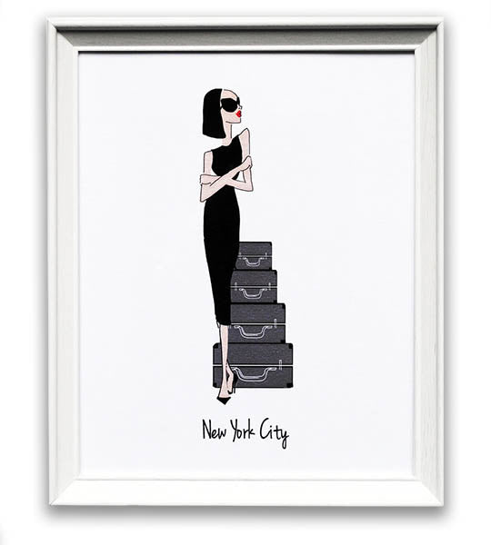 Eighty Seventh ST Chic in NYC Print - TheSeptember.com