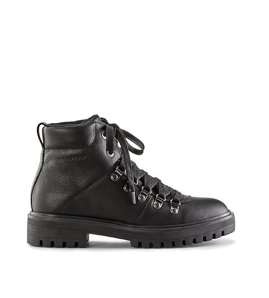 Nash Leather Hiking Boot - Black