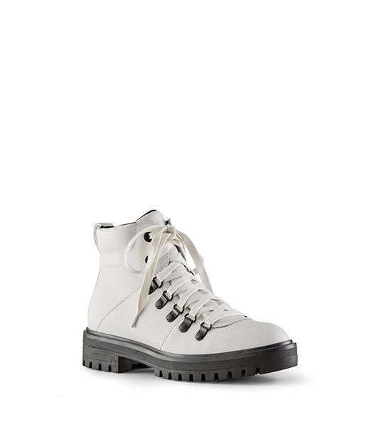 Nash Leather Hiking Boot - White
