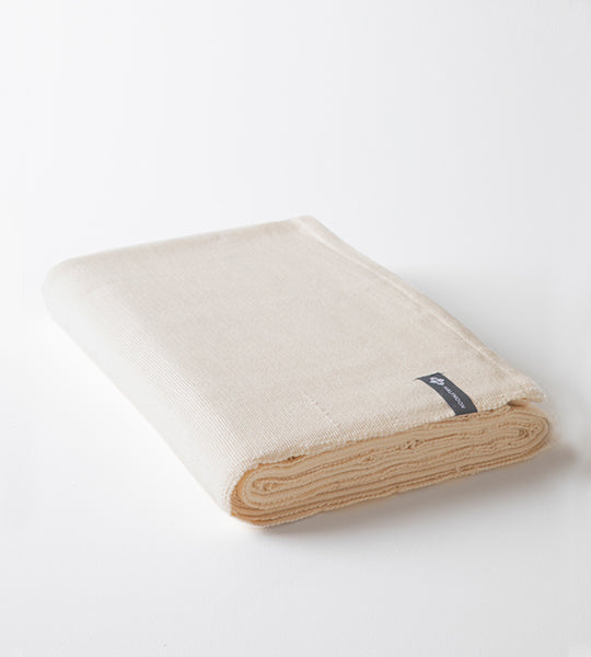 Classic Cotton Yoga Blanket - Natural Weave