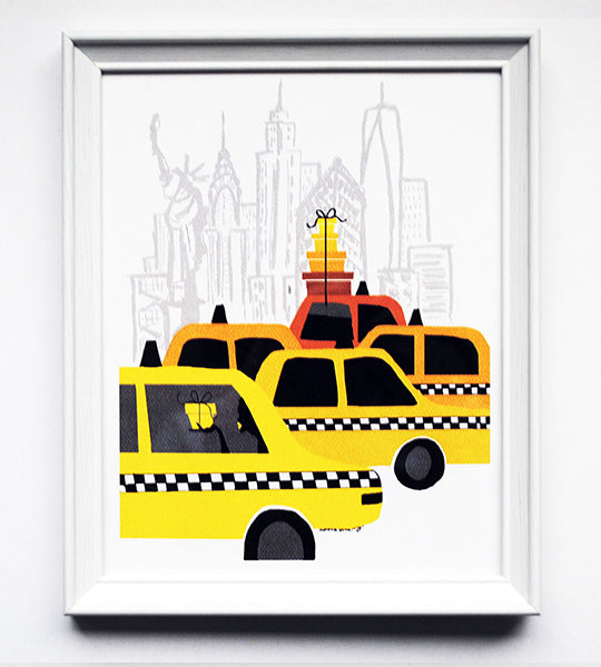 NYC Delivery Print