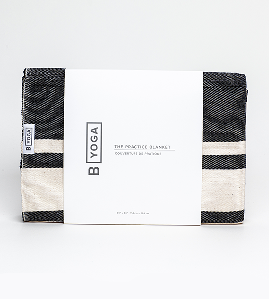 The Practice Blanket - Onyx Stripe