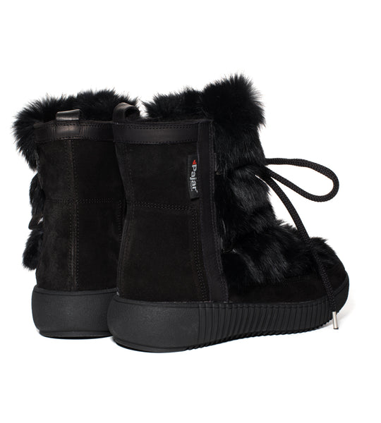Pajar Anet Fur Boot Black - TheSeptember.com