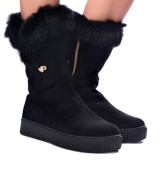 Ruby Fur Boot