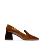 Pargas Tan Leather Pump
