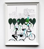 Paris Delivery Print