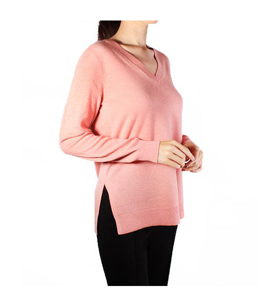 Cashmere V-Neck Sweater Primrose