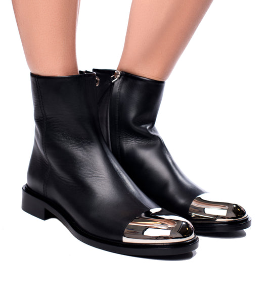 Metal Toe-Cap Boot