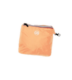 Full-Zip Packable Rain Jacket - Orange Fluo