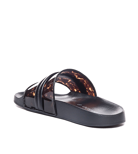 Raine Slide - Tortoise Shell