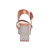 Reagan Raffia Sandal Natural