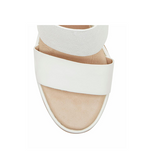 Rhory Platform Wedge Sandal - White