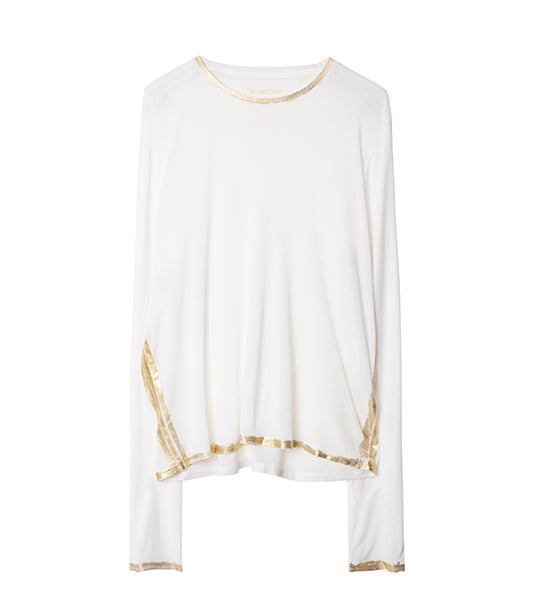 Willy Gold Foil Long Sleeve Tee
