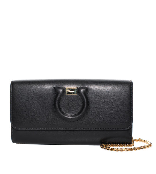 Salvatore Ferragamo Gancini City Mini Handbag - TheSeptember.com