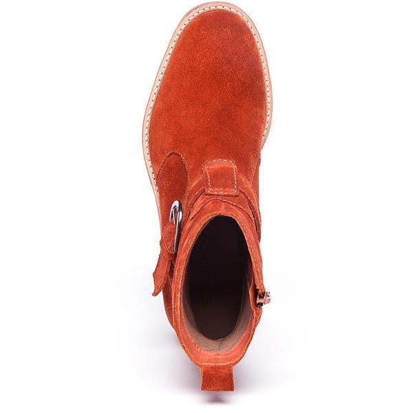 Scout Boot Red Suede