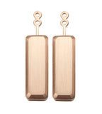 Marilyn Rose Gold Earrings Extenders