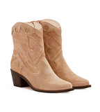 Shelby Mid Ankle Boot Taupe