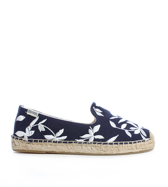 Shiloh Embroidered Floral Espadrille