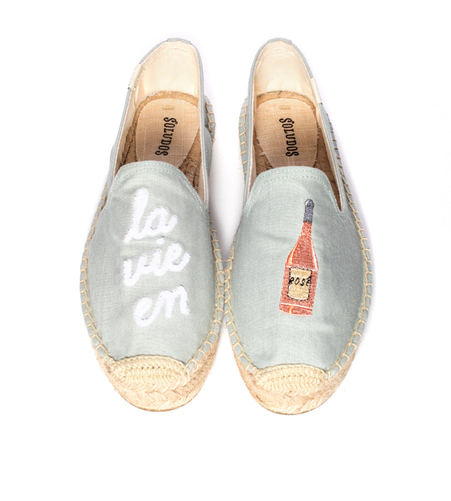 La Vie En Rose Smoking Slipper