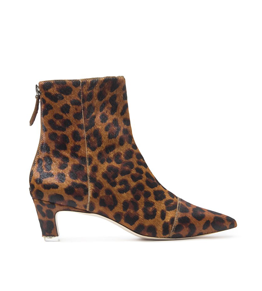 Sonia Leopard Ankle Boot