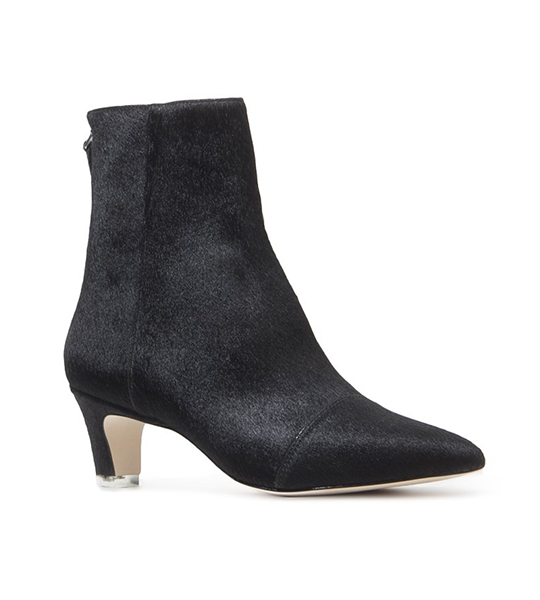 Sonia Black Ankle Bootie