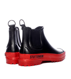 Stutterheim Chelsea Rainwalker Black and Red - TheSeptember.com