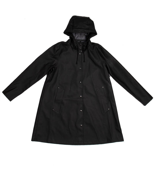Black Mosebacke Raincoat