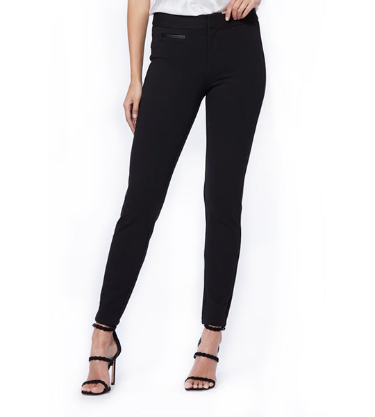 Tezza Ponte Pant - Black