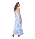 Tie Dye Pleat Dress