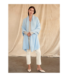 Cashmere Travel Wrap - Freshwater
