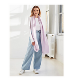 Cashmere Travel Wrap - Lilac Shell