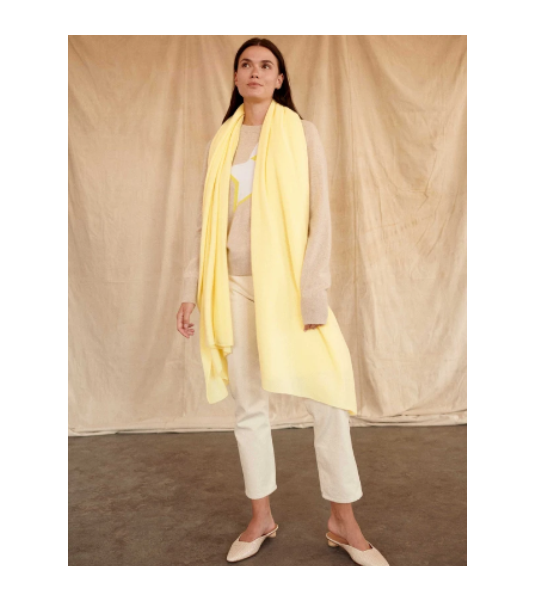 Cashmere Travel Wrap - Sunshine